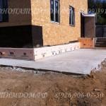 Готовый фундамент под дом