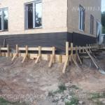 Заливка фундамента под дом