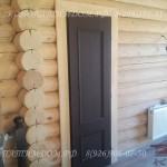 Наличник дверей в деревянном доме