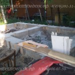 Фундамент под баню