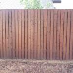 Забор штакетник из узкой доски