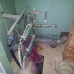 разводка сантехники и электрики