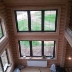 окосячка обсада в деревянном доме