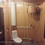 помывочная котельная и туалет + обливное ведро