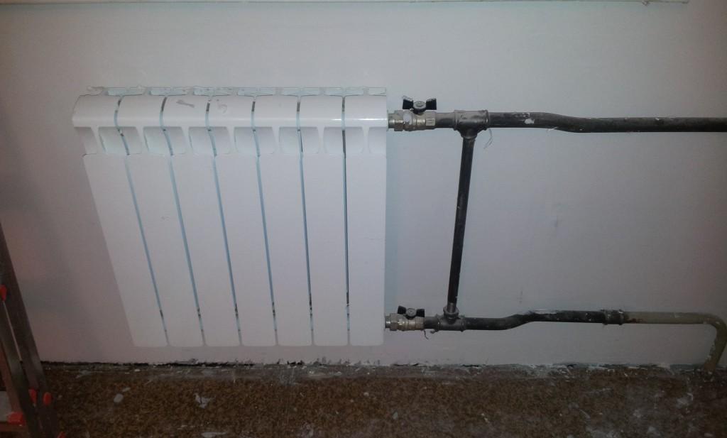монтаж отопление