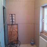 гипсокартон на стенах в деревянном доме