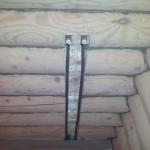 вывод отопление в деревянном доме