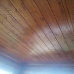 потолок имитация бруса