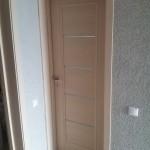 монтаж дверей с доборами