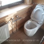 Туалет в срубе