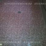 Пол из плитки в брусовом доме
