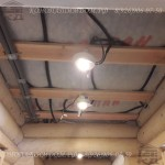 Разводка электрики в потолке