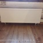 Радиатор в деревянном доме