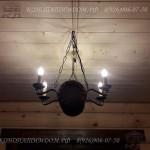 Лампа бочка под старину