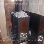Покупная печь с камнями
