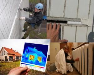 Потери тепла обследование дома тепловизором
